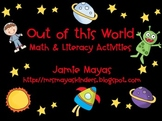 Out of this World Math & Literacy Space Activities