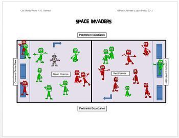 """Out of this World PE Games!- """"12 Large Group Games"""""""