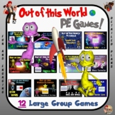 Out of this World PE Games- 12 Large Group Game Bundle