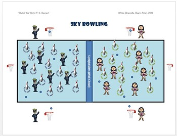 """Out of this World PE Games!- """"Sky Bowling"""""""