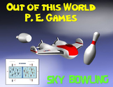 "Out of this World PE Games!- ""Sky Bowling"""
