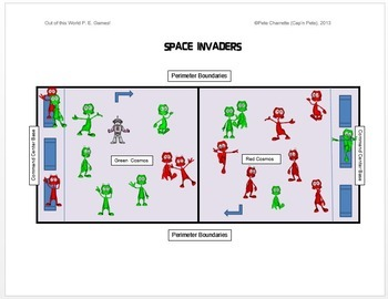 """Out of this World PE Games! - """"Space Invaders"""""""