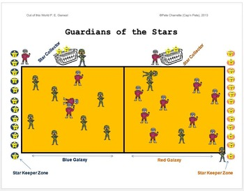 """Out of this World PE Games! - """"Guardians of the Stars"""""""