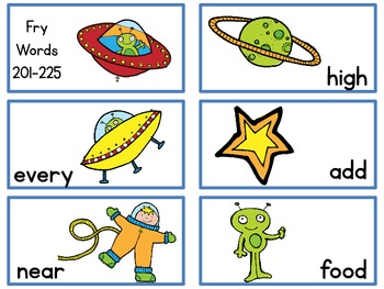 Out of this World Reader {Fry Words 201-300}