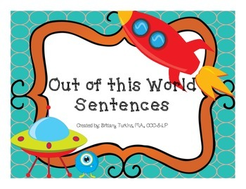 Out of this world sentences Bundle