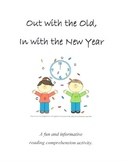 Out with the Old, in with the New Year (New Year's Reading Comp. Activity)