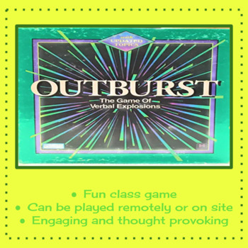 Outburst (The Game of Verbal Explosions)