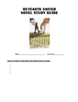 Outcasts United Novel Study - complete unit