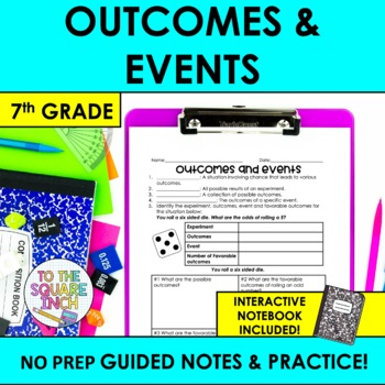 Outcomes and Events Notes