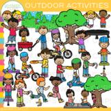 Outdoor Activities Clip Art