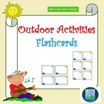 Outdoor Activities - Flashcards