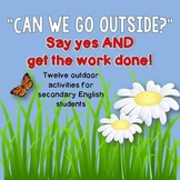 Outdoor Activities for Secondary English Classes