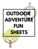 Outdoor Adventure Fun Sheets