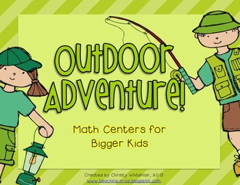 Math Centers for Upper Elementary