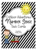 """Outdoor Adventures"" Number Sense Task Cards"