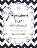 Outdoor Alphabet Hunt