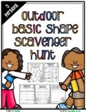 Basic Shape OUTDOOR Scavenger Hunt - DISTANT LEARNING Neig