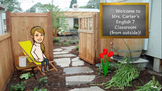 Outdoor Bitmoji Virtual Classroom Scenes (Good for End of the Year)