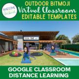 Outdoor Bitmoji Virtual Classrooms