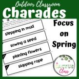 Outdoor Classroom Drama Game   Charades   Spring Vocabulary