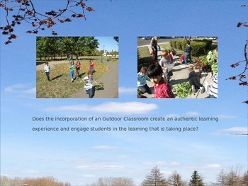 Outdoor Classroom Power Point