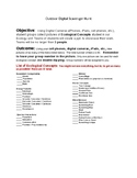 Outdoor Ecology Scavenger Hunt Project