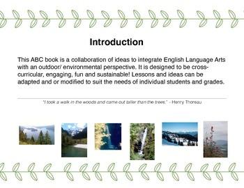 Outdoor Education ABC Book