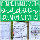 French Kindergarten Outdoor Education Activities // Print and Play!