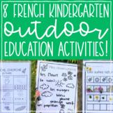 French Kindergarten Outdoor Education Activities // Print