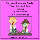 Distance Learning: Outdoor Education Bundle: Writing, Math