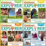 Outdoor Explorer - Year-Round Seasonal Science and Nature Activity Bundle