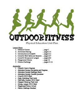 Outdoor Fitness Unit Plan for Physical Education