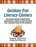Outdoor Fun Literacy Centers