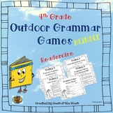 Outdoor Grammar Games BUNDLE