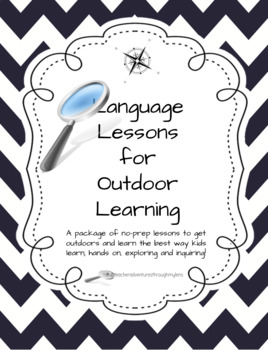 Language Lessons for Outdoor Learning