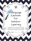Outdoor Language Lessons