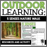 Outdoor Learning Activity: 5 Senses Nature Walk | Descriptive Writing