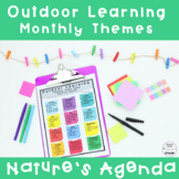 Outdoor Learning Monthly Theme Ideas