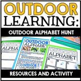Outdoor Learning Activity: Outdoor Alphabet Scavenger Hunt | Nature Art