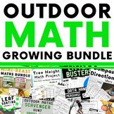 Outdoor Math Activities Growing Bundle