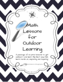 Outdoor Math Lessons