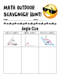 Outdoor Math Scavenger Hunt