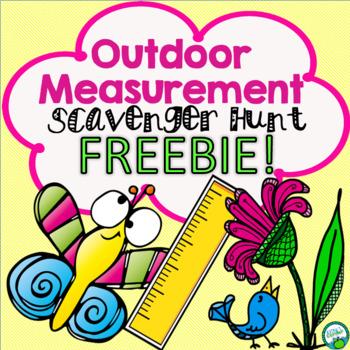 Outdoor Measurement Scavenger Hunt