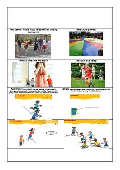 Outdoor Movement Task Cards