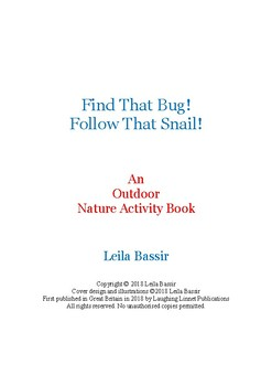 Outdoor Nature Activity Book