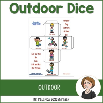 Outdoor Play Activity Dice