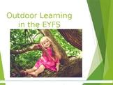Outdoor Play in EYFS Parent Workshop PowerPoint