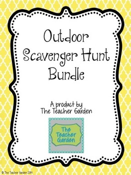 Outdoor Scavenger Hunt Bundle