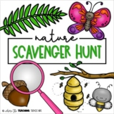 Outdoor Scavenger Hunt - Nature | Distance Learning Activity