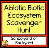 Outdoor Schoolyard Google Slides iPad Abiotic/Biotic Ecosystems Activity MS-LS2